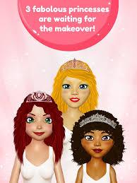 princess hair makeup salon on the app