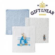 peter rabbit baby collection face cloth