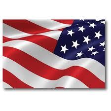 Waving Reverse American Flag Car Magnet Decal 4 X 6 Heavy Etsy