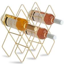 10 bottle tabletop wine bottle rack