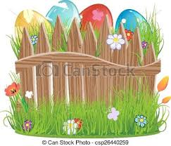 Colorful Fence Clip Art Creative Art