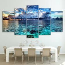 wall art canvas prints set living room