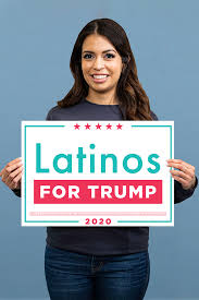 Latinos For Trump Rally Sign Set Of 2 Trump Make America Great Again Committee