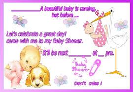Invitaciones De Baby Shower En Ingles Como Llenar Una Invitacion