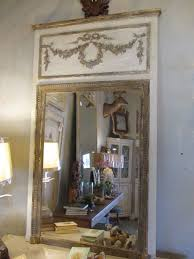 antique french trumeau mirrors large