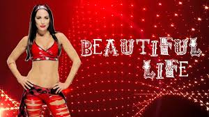 wwe brie bella theme song beautiful