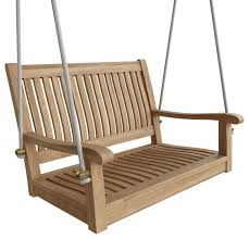 36 straight swing bench transitional