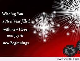 wishing you a happy new year image by funny