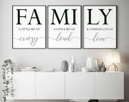 Family Wall Decor Etsy