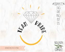 Free Team Bride Svg Decal Wedding Ring In Svg Eps Pdf Dxf Png Formats Diamond Ring Cricut Silhouette Cameo Vinyl Decal T Shirt Design Mtc Scal Iron On Vinyl Heat Transfer Vinyl