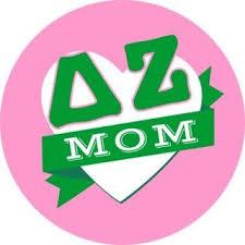 Delta Zeta Mom Round Decals Sale 4 95 Greek Gear