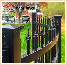 China Residential Commercial Garden Swimming Pool Fence For Security And Ornamental Galvanized Steel Wrought Iron Aluminum And Metal Material Fence Panel China Fence Fence Panel