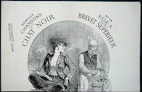 chansons du chat noir orig 1890s french