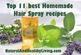 top 11 diy homemade hair spray recipes