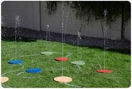 diy splash pad backyard splash pad