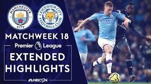 Manchester City v. Leicester City | PREMIER LEAGUE HIGHLIGHTS | 12/21/19