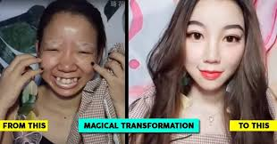 chinese shows an incredible makeup