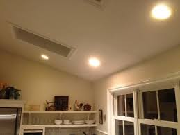 led downlights vaulted ceiling