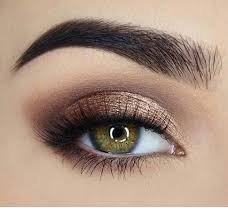 pretty eye makeup for green eyes