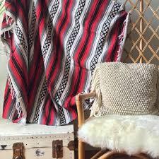 mexican striped blanket on wanelo