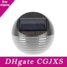 2020 Solar Power Garden Wall Light Sensor Saving Lamp Led Outdoor Garden Fence Post Lamp Night Light From Efwsssss 28 55 Dhgate Com