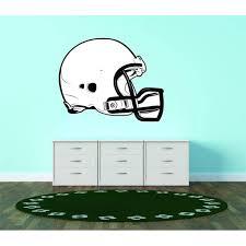 Custom Decals Prices Reduced American Football Helmet Sports Logo Nfl Vinyl Wall Vinyl Decor 30x30 Walmart Com Walmart Com