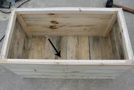how to build a diy wooden crate for