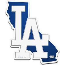L A Dodgers Car Decals Decal Sets Dodgers Car Decal Shop Yahoosports Com