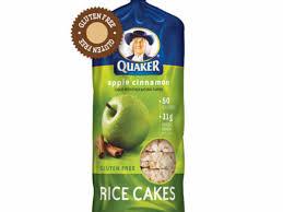 apple cinnamon rice cakes nutrition
