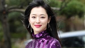sulli south korean k pop star and