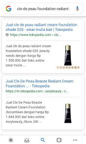 cle de peau radiant cream foundation