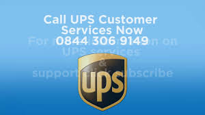 UPS Phone Number 0844 306 9149 - YouTube