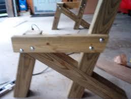detail free wood garden bench glider plans