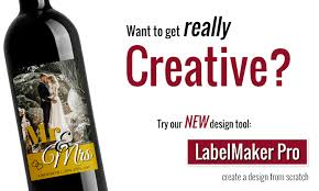 personalized and custom wine labels