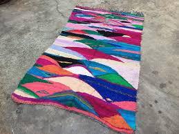 kilim boucherouite rag rug weaving of