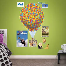 Disney Pixar Up Wall Decals By Fathead Multicolor Disney Kids Rooms Disney Pixar Up Wall Decals