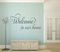 Removable Dcwv Vinyl Lettering Home Welcome For Sale Online Ebay