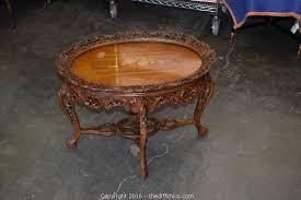 living room furniture antique wood