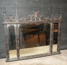 antique carved gothic mirror antiques