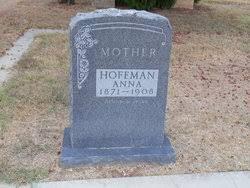 Anna Augusta Petzold Hoffman (1871-1908) - Find A Grave Memorial