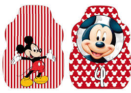 Imprimibles Fiesta Mickey Mouse Telares Manualidades