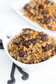 slow cooker beef and barley recipe