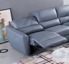 royal blue leather sectional sofa navy