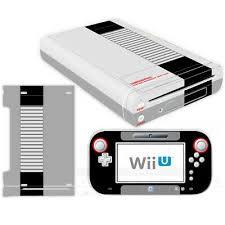 Nintendo Wii U Console Controllers Skin Kit Nes Retro Vinyl Decals Stickers Case Ebay