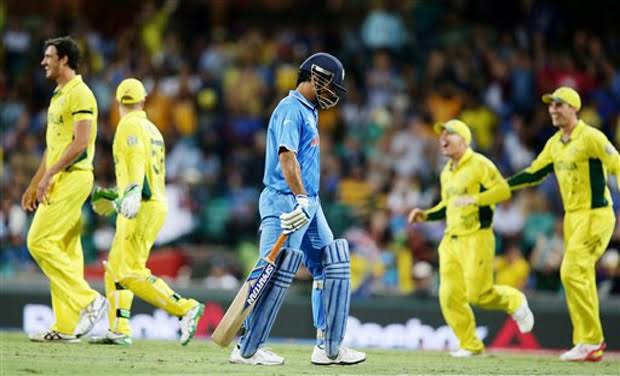 Image result for India vs Australia World Cup 2015 semifinal""