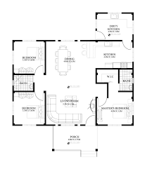 one story house design and plan home
