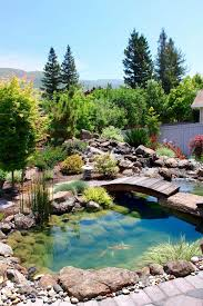 Small Backyard Pond Ideas For Your Outdoor Home Design Horizontal Fence With Small Backyard Pond Ideas And Ponds Backyard Waterfalls Backyard Pond Landscaping