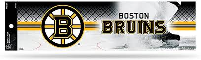 Boston Bruins Vinyl Decal 5 Window Sticker Patch Bumper Size Boston Bruins Poster Bumper Stickers Sports Outdoors