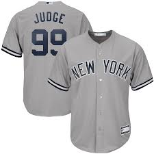 New York Yankees Aaron Judge Gray Big ...