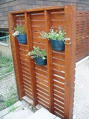 This Would Be A Great Wind Block For The West Side Of The Patio Outdoor Privacy Privacy Landscaping Backyard Privacy